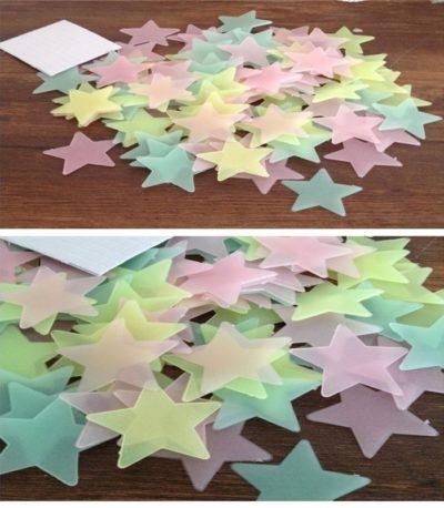 Cветящиеся звезды в темноте