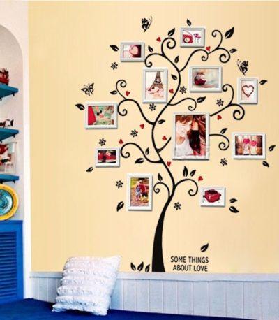 Съемные фото дерево Наклейки на стены