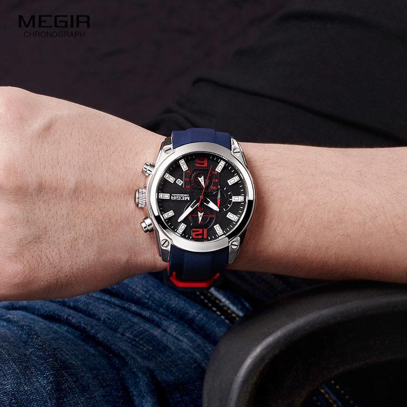 Для мужчин кварцевые часы с датой