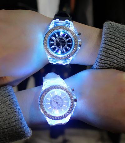Светодиодные Светящиеся Парные часы
