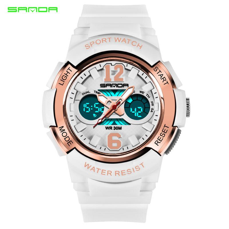 Светодиодны женские спортивные часы