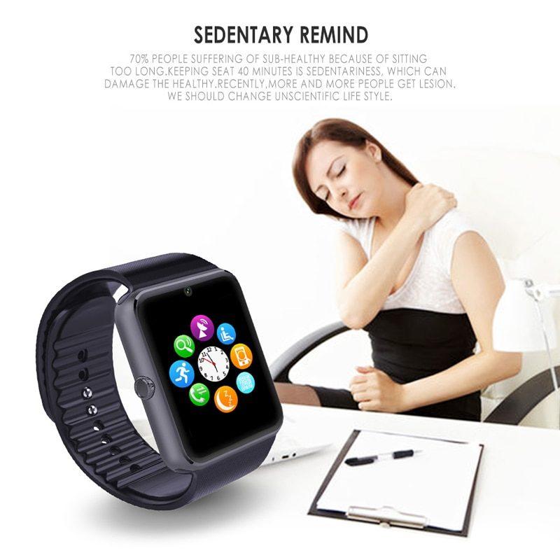 GT08 Bluetooth Смарт часы с GSM Sim карт для IOS и Android