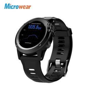 Microwear H1 Смарт-часы Android 4.4 WI-FI GPS 3G для iPhone и Android