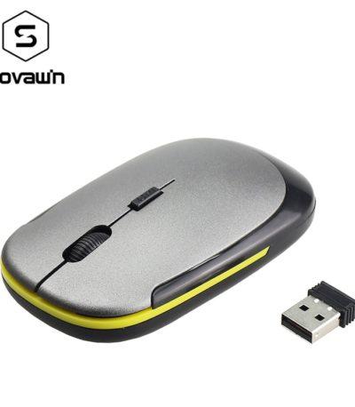 Super Slim мини Беспроводной мышь