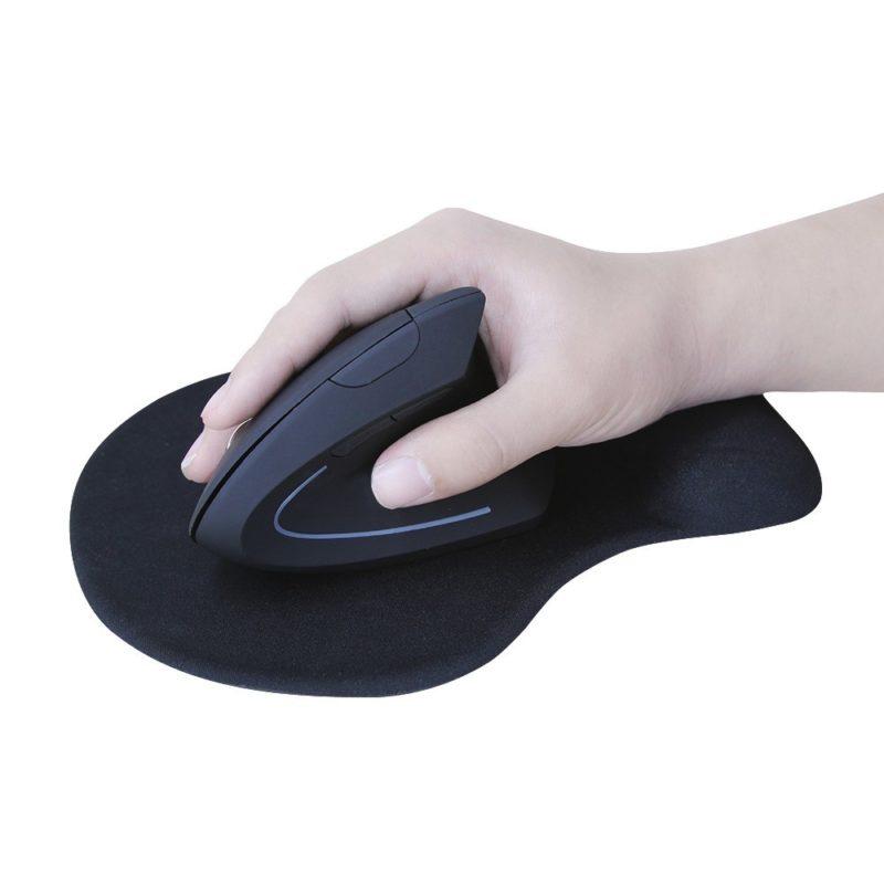 Эргономичная оптическая беспроводная мышь