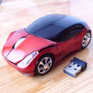 Беспроводная мышь виде супер автомобиль