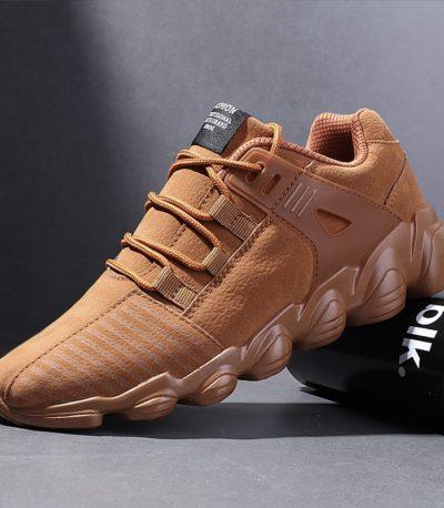 Осень-зима теплая мужские кроссовки
