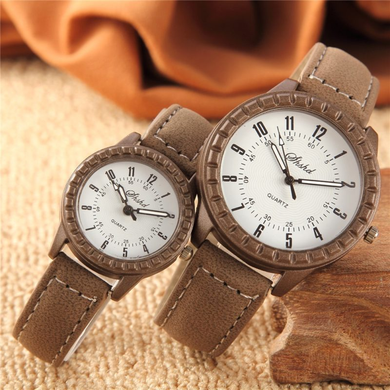кварцевые наручные часы влюбленных