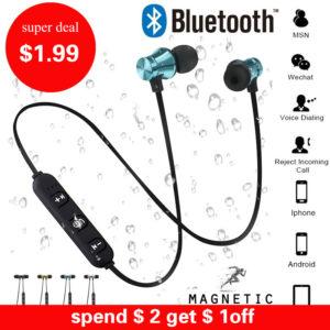 Bluetooth наушники с встроенный микрофон