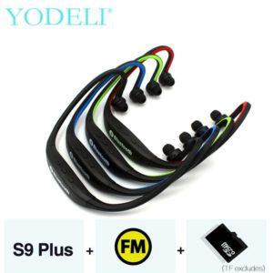 MP3 и FM радио Bluetooth наушники с микрофоном