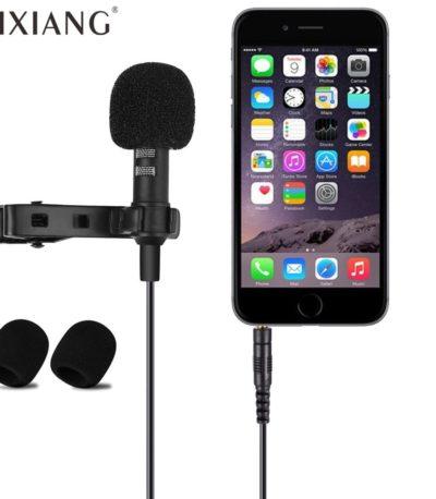 мини микрофон 3.5mm телефона и компьютера