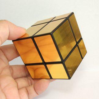 зеркало speed кубик рубик черный золото