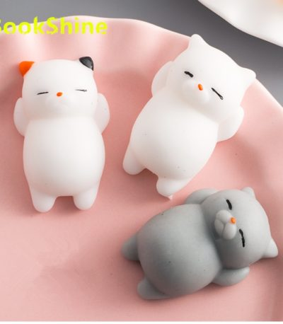 антистресс мягкая кошка игрушка