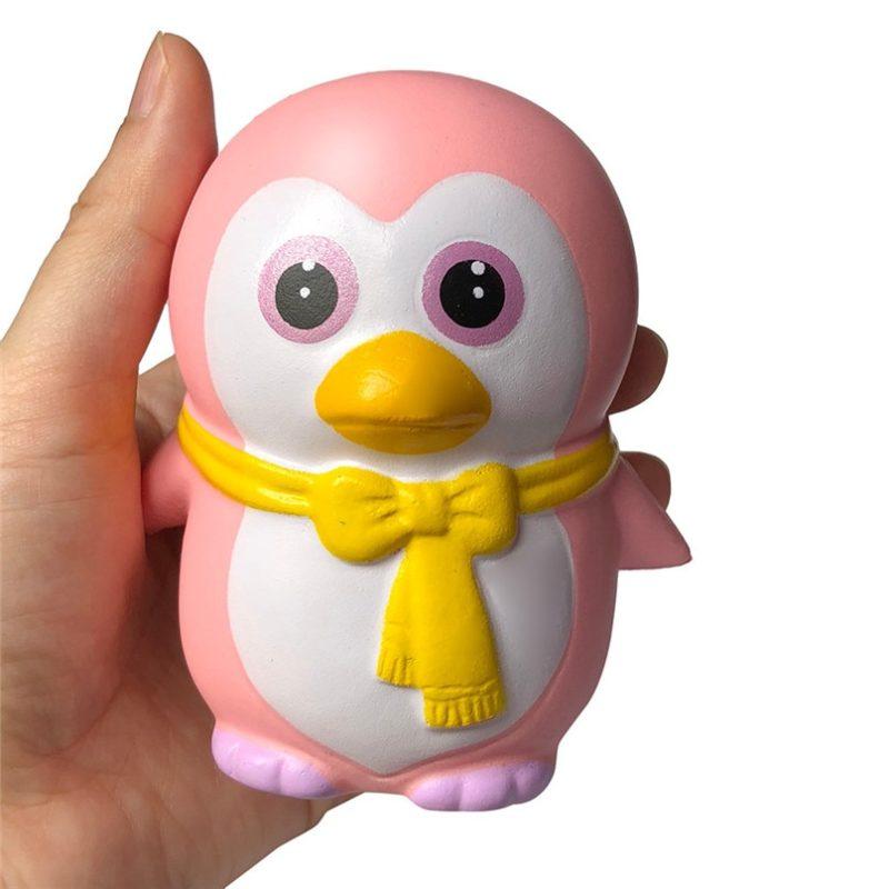 Мягкий пингвина антистресс игрушка
