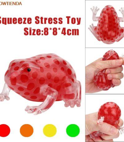 мягкая лягушки антистресс игрушка