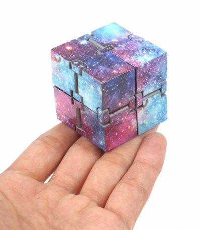 Бесконечность металл куб антистресс