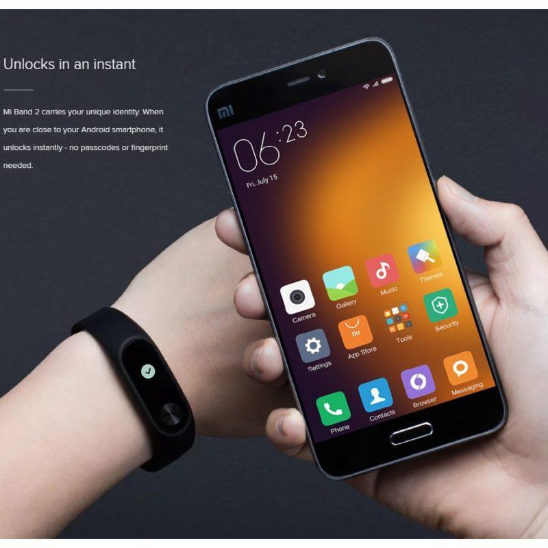 Xiaomi Mi Band 2 c Монитор сердечного ритма