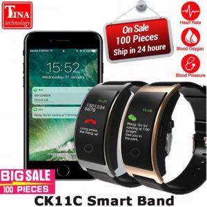 CK11 Smart Bracelet цветной экран кровяное давление