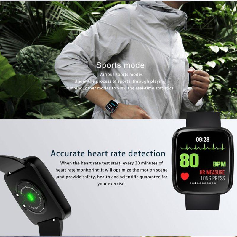 JUESSEN V6 Smart Bracelet водозащитный Давление