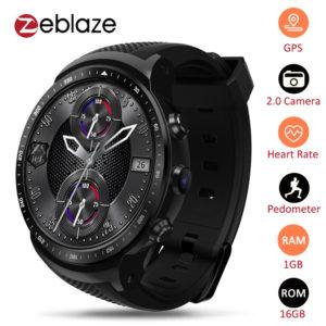 Zeblaze Smart Часы 3G, GPS, WI-FI, Android 5.1 4 ядра 1GB RAM 16GB