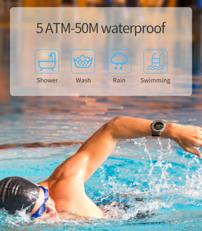 Bluetooth Водонепроницаемый Спортивный smart часы