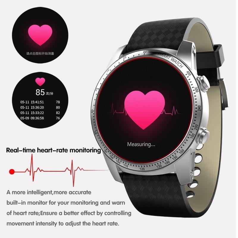 Android Смарт часы с 8GB WI-FI GPS и монитор сердечного ритма