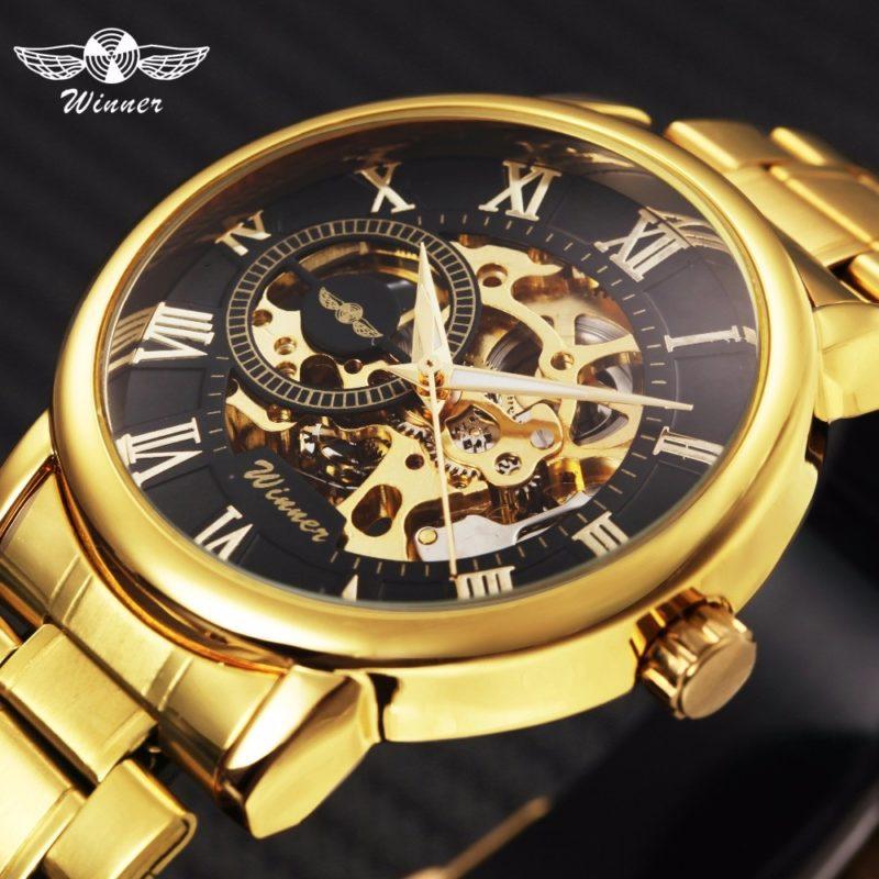 Механические классические мужские часы