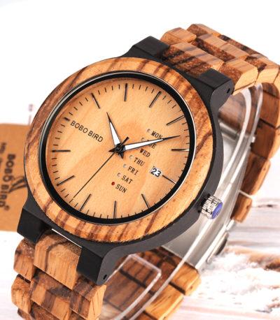 BOBO BIRD мужские деревянные часы