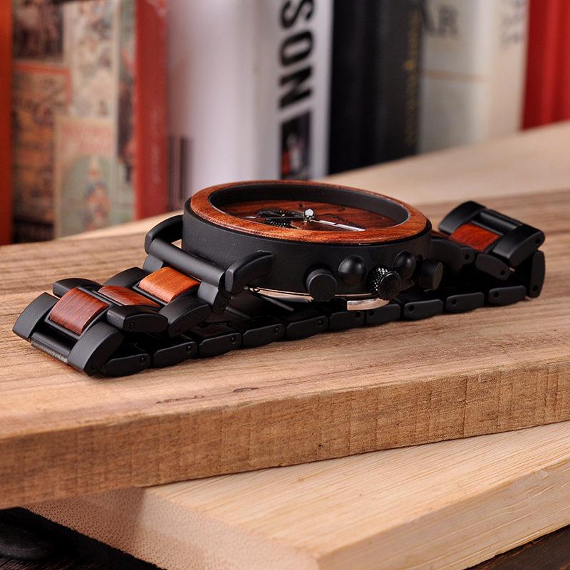 BOBO BIRD наручные часы в деревянном корпусе