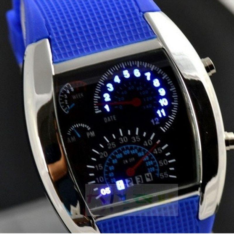 спортивные светодиодный цифровые часы
