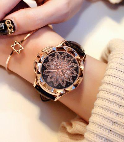 хрустальные женские часы