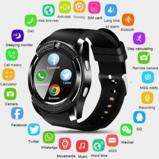 V8 Bluetooth Смарт часы с Sim картой