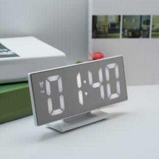 зеркальные цифровой настольный часы