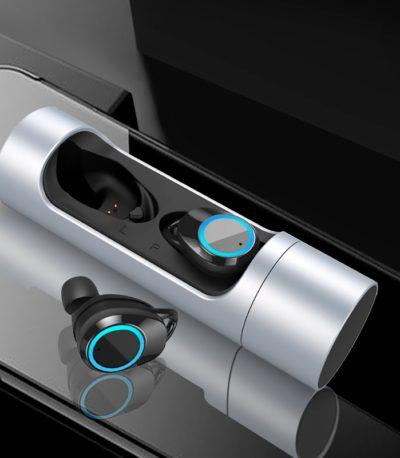 Мини Bluetooth наушники с микрофоном
