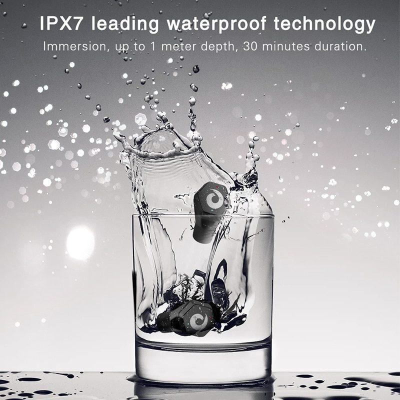 IPX7 Водонепроницаемый Bluetooth наушники