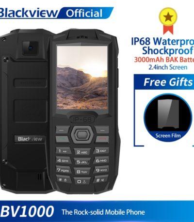 Blackview BV1000 IP68 водонепроницаемый мобильный телефон