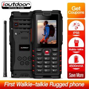 ioutdoor T2 телефон с IP68 Водонепроницаемый и Powerbank