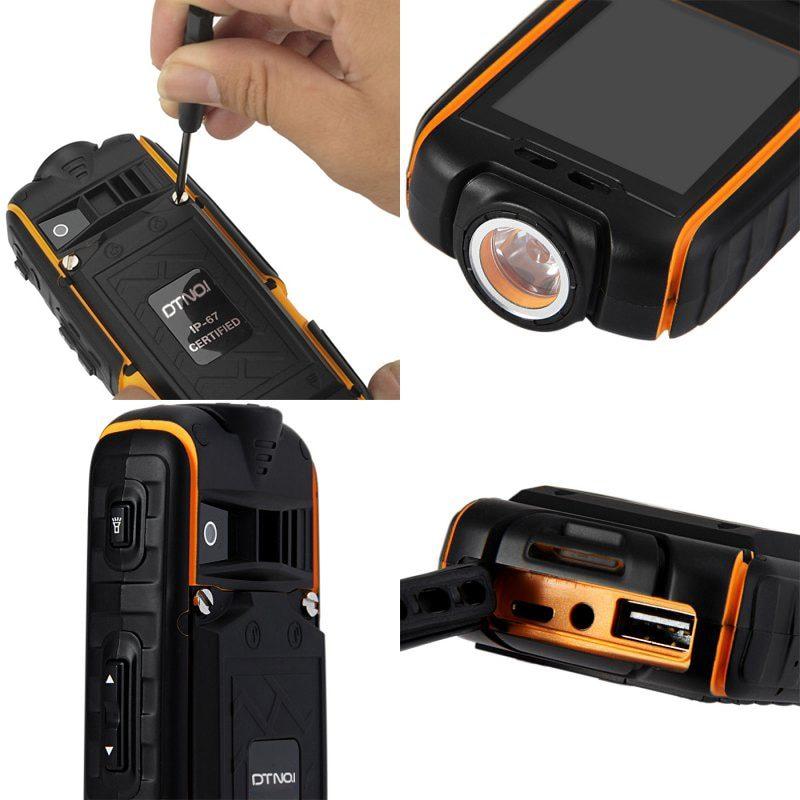 DTNO IP67 водонепроницаемый ударопрочный телефон