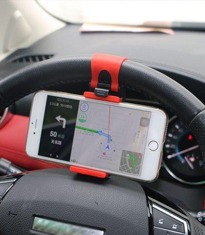 Автомобильный руль клип держатель телефона