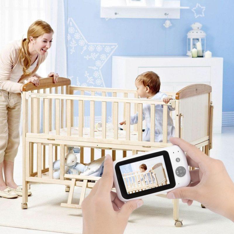 Беспроводной камера монитор детский спальный
