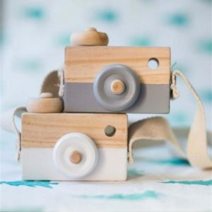 Деревянная камера декор комнаты