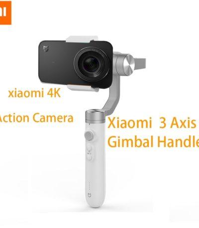 Xiaomi Mijia Экшн камера и телефон стабилизатор