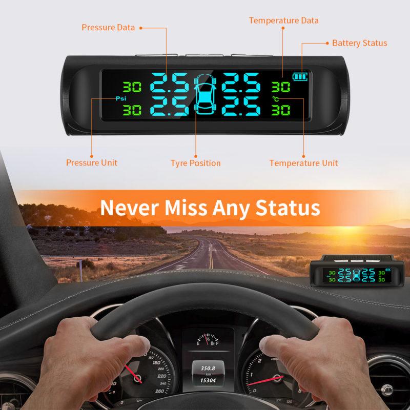 мониторинговая система контроля давления в шинах