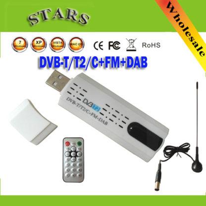 Цифровой спутниковый DVB T2 Тюнер USB