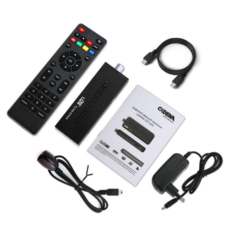 Мини DVB T2 ТВ приемник Поддержка MP3 MPEG4