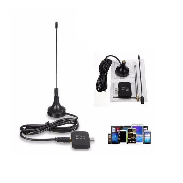 DVB-T2 DVB-T мобильный ТВ-тюнер для Android